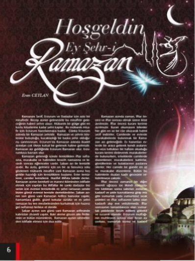 Hoş Geldin Ey Şehri Ramazan