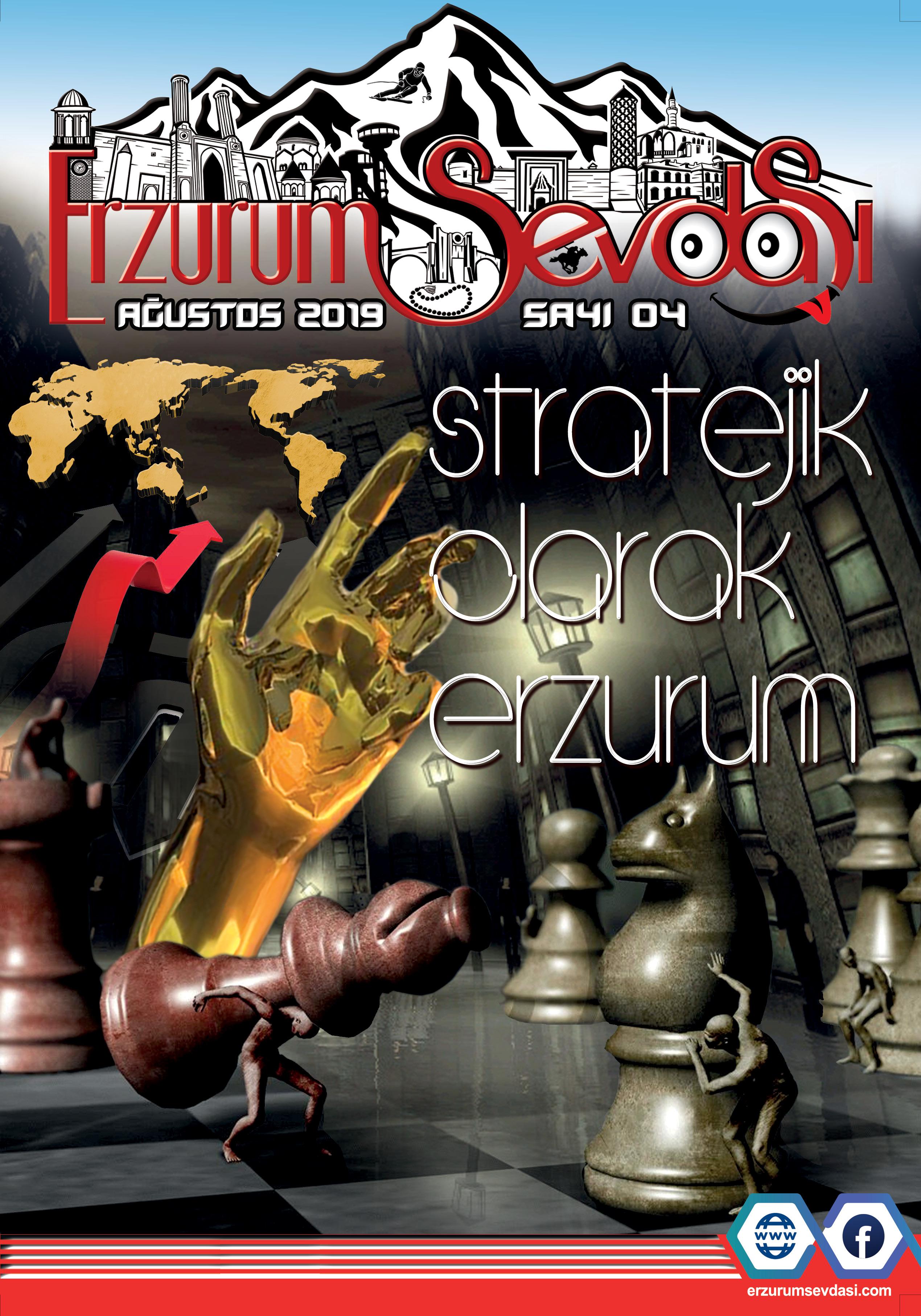 Erzurum Sevdası Dergisi Agustos Sayısı 2019