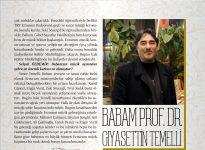 BABAM PROF. DR. GIYASETTİN TEMELLİ