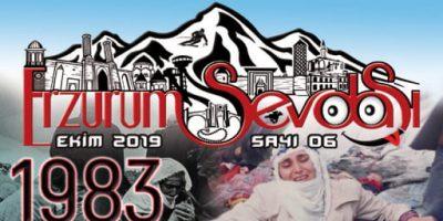 Erzurum Sevdası Dergisi Ekim Sayısı 2019