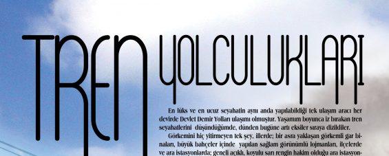TREN YOLCULUKLARI