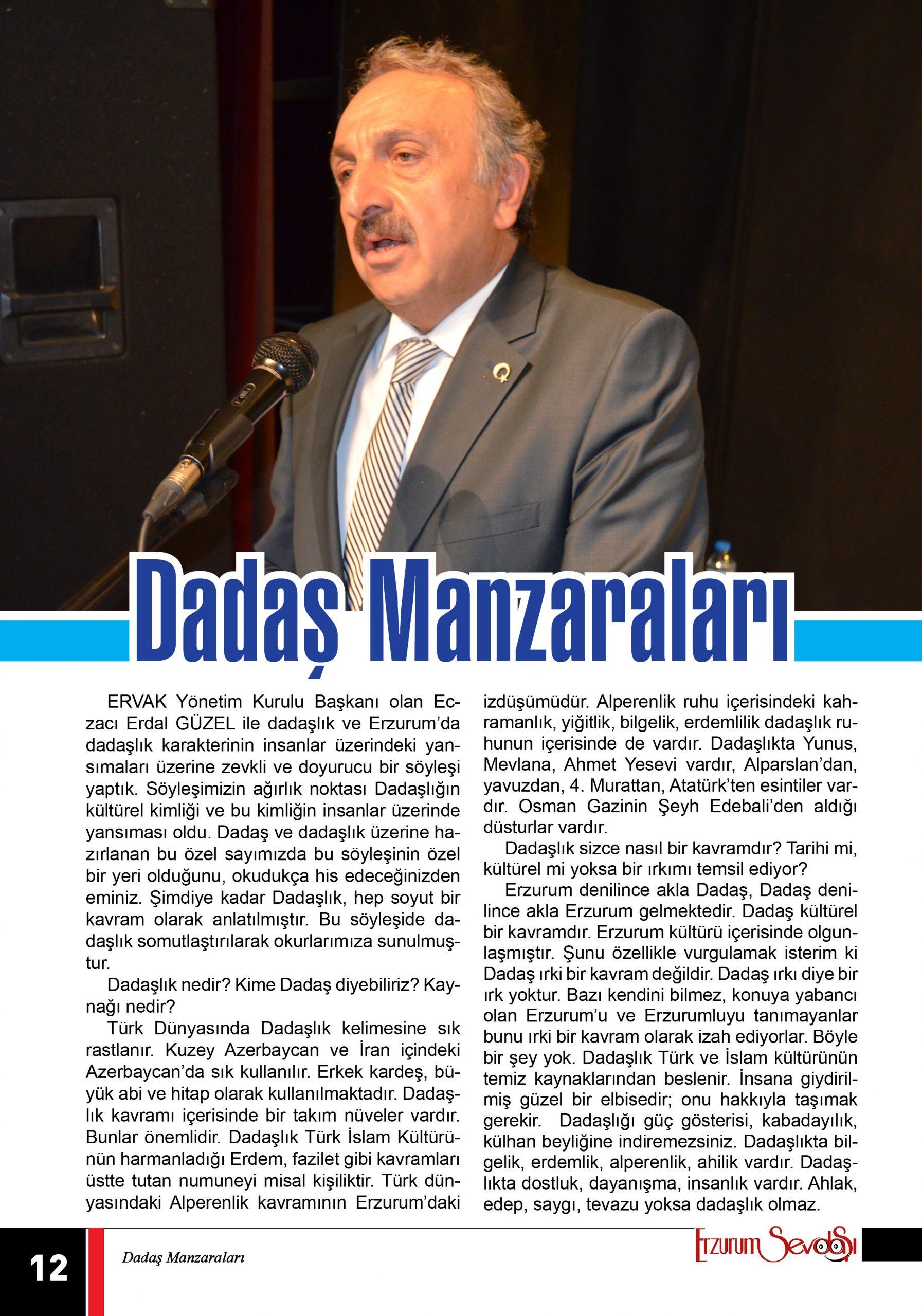 DADAŞ MANZARALARI