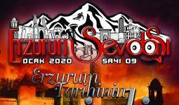Erzurum Sevdası Dergisi Ocak Sayısı Yıl 2020