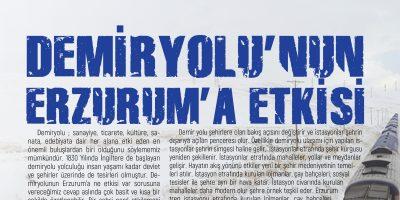 DEMİRYOLU'NUN ERZURUM'A ETKİSİ