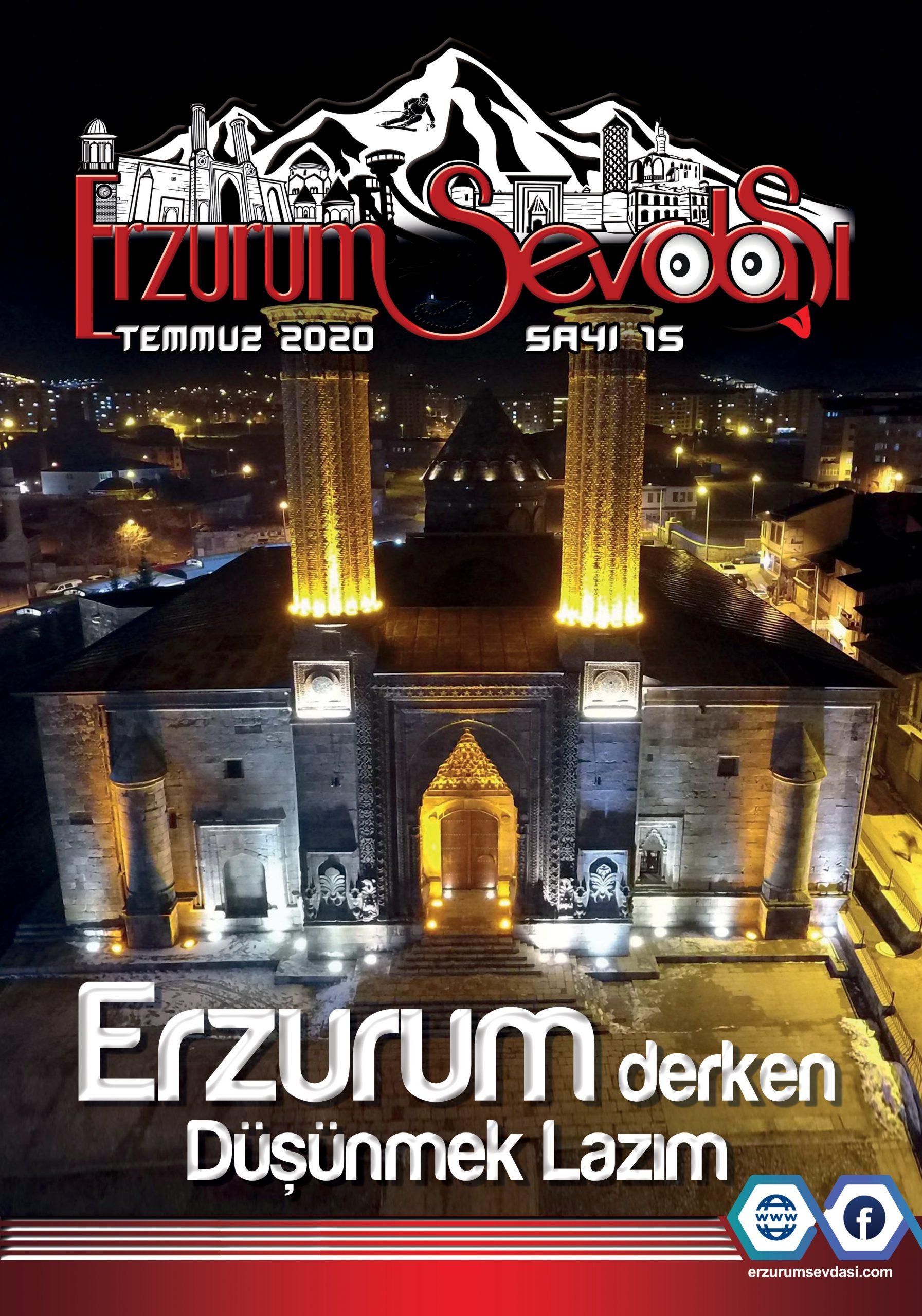 Erzurum Sevdasi Dergisi Temmuz 2020