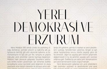 YEREL DEMOKRASİ VE ERZURUM