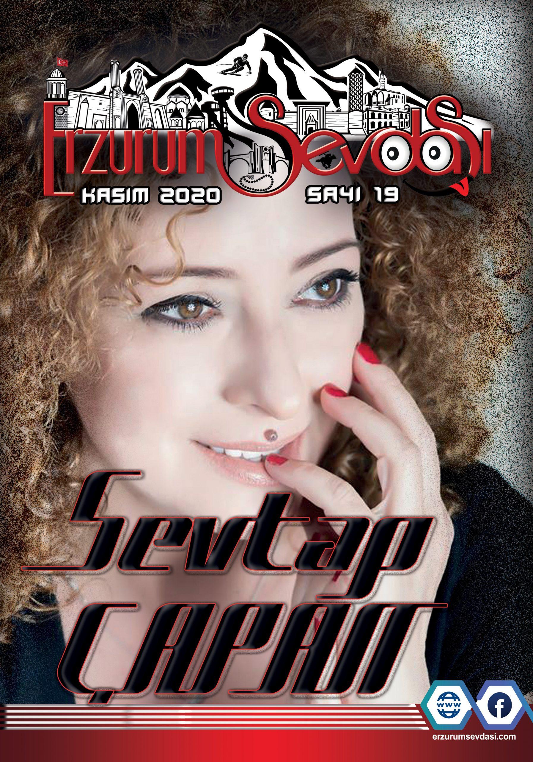 Erzurum Sevdasi Dergisi Kasım sayısı 2020