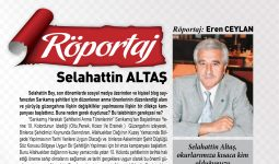 Selahattin Altaş'la Röportaj