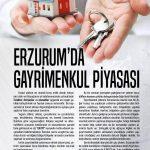ERZURUM'DA GAYRİMENKUL PİYASASI