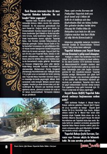 Erzurum Sevdasi Dergisi Ümit Topal,la Röportaj