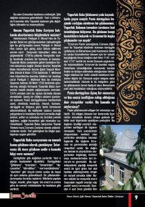 Erzurum Sevdasi Dergisi Şubat Sayısı 2021 Toparlak Baba