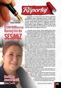 Erzurumluyu Konuşturan Sesimiz
